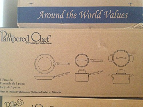 The Pampered Chef Executive Cookware 5-Piece Set - Executive Chefs Set