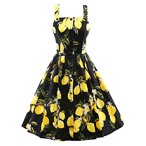 Vintage Strappy Sleeveless Cocktail Dresses product image