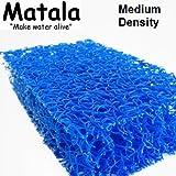 1 Sheet Matala Pond Blue Filter Mat Koi Media Pad 39'' X 48''