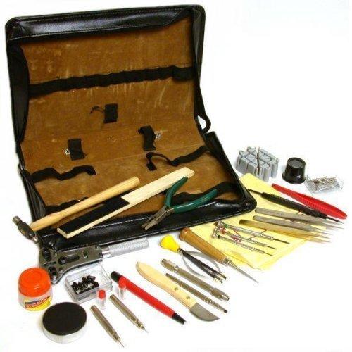 143 Watch & Clock Repair Tools & Storage Case