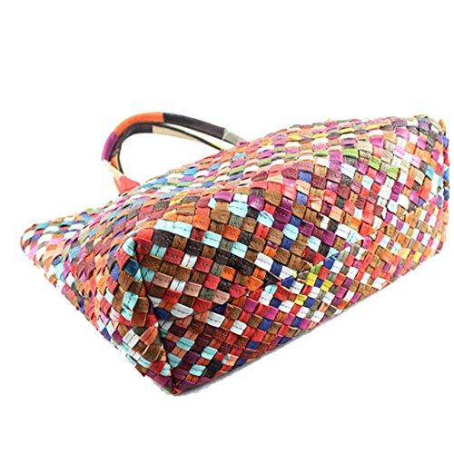 Eysee - Cartera de mano para mujer Varios colores multicolor 38cm*40cm*18cm multicolor