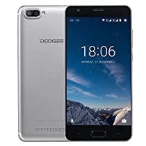 DOOGEE X20L Smartphone 4G, 5 pollici HD, Quad Core, Ram 2GB, Memoria Interna da 16GB, Fotocamera 5Mpx, Android 7.0