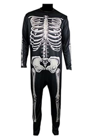 4e8fc43cf9d Amazon.com  Donnie Darko Skeleton Suit Party Adult Costume Fancy Jumpsuit   Clothing