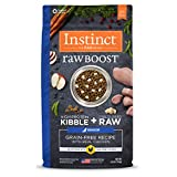 Instinct Raw Boost Senior Grain Free Recipe With Real Chicken Natural Dry Dog Food By Nature'S Variety, 4 Lb. Bag For Sale