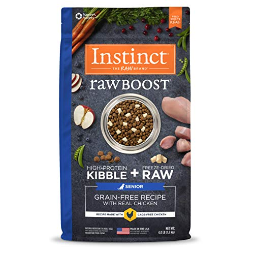 Instinct Raw Boost Senior Grain Free Recipe with Real Chicken...