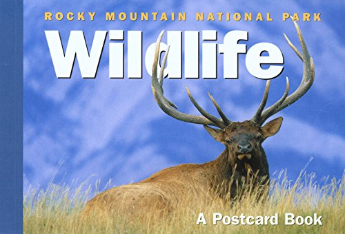 Rocky Mountain National Park Wildlife: A Postcard Book (Postcard Books) from Globe Pequot