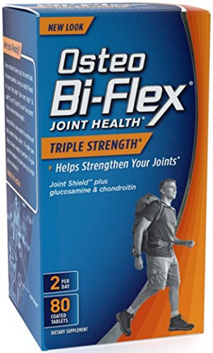 Osteo Bi-Flex Advanced Triple Strength Coated Tablets 80 ea (Pack of 8) by Osteo Bi-Flex