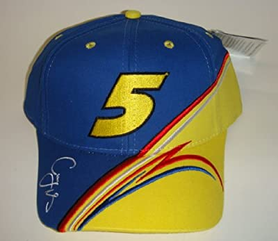 NASCAR Casey Mears #5 Kelloggs Carquest Velcro Pit Cap by Chase Authentics