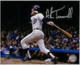 ALAN TRAMMELL AUTOGRAPHED DETROIT TIGERS 8X10 PHOTO #1 - 1984 WORLD SERIES HR