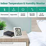 ThermoPro TP50 2 Pieces Digital Hygrometer Indoor