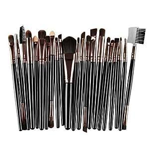 218e02e6e482 Amazon.com: Kaputar 22PCS Kabuki Make up Brushes Set Makeup ...