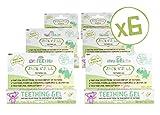 Jack N' Jill Natural Teething Gel 15g/0.53oz (6 Pack)