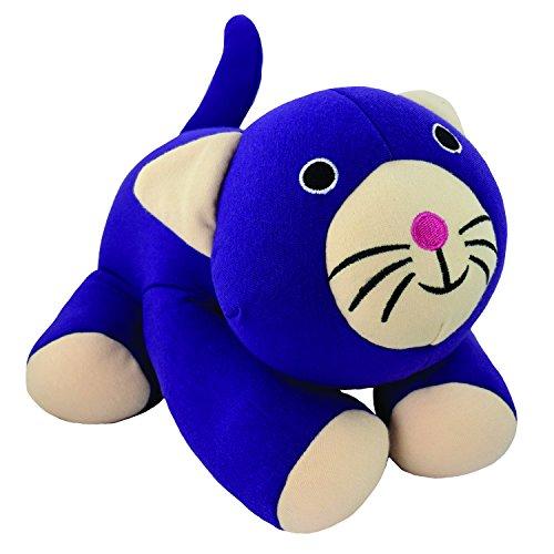 Yogibo Mate - Beanbag Stuffed Animal Huggable Loveable Pets (Purple Cat) - Cat Bean Bag Toy