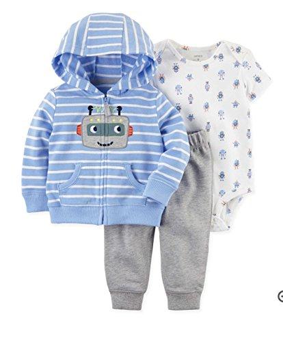 Carter's Baby Boys' 3 Piece Little Jacket Set