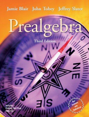Prealgebra Value Package (includes MyMathLab/MyStatLab Student Access Kit)
