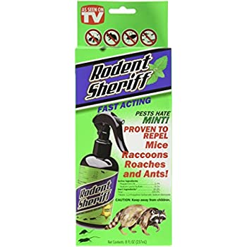 Amazon.com : RODENT SHERIFF NATURAL PEST CONTROL SPRAY