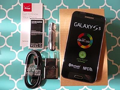 "Straight Talk Samsung Galaxy S5 ""Black"" run's on Verizon's 4G XLTE Towers via Straight Talk's $45 unlimited 5GB Plan"