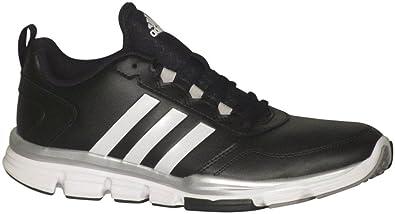 9e7fd2fdeaa3 adidas Speed Trainer 2 SL Mens Running Shoe 8 Black-Silver Met-White
