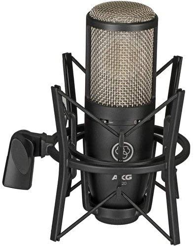 front facing AKG Project Studio P220
