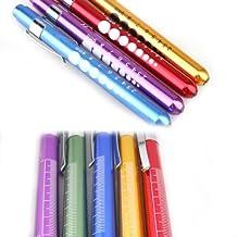 Vktech Penlight Pen Light Flashlight Torch Doctor Nurse EMT Emergency Medical First Aid(Random Color)