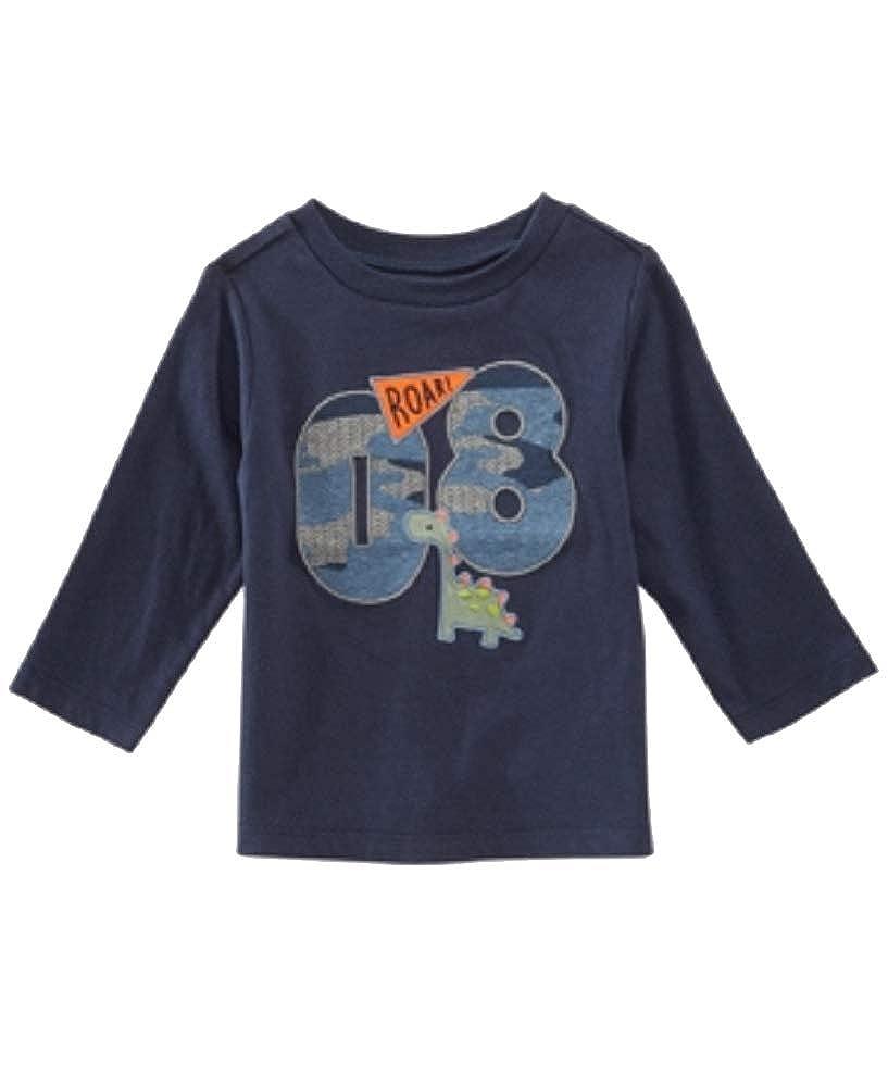 60b17955 Amazon.com: First Impressions Toddler Boys Varsity-Print Cotton T-Shirt  (Navy Nautical, 4T): Clothing