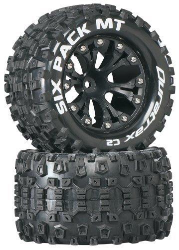 popular Duratrax Sixpack MT 2.8 Truck 2WD Mntd Mntd Mntd 1 2 Offset C2 Tires (2-Piece), negro by DuraTrax  Los mejores precios y los estilos más frescos.