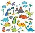 Dino Friends Decorative Peel & Stick Wall Art Sticker Decals