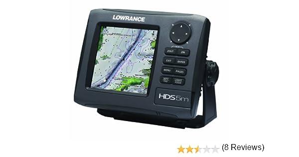 LOWRANCE HDS-5M GEN2 NAUTIC INSIGHT CHARTPLOTTER: Amazon.es: Electrónica