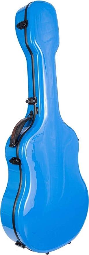 Estuche para guitarra clásica fibra de vidrio Ultra Light blue M-Case: Amazon.es: Instrumentos musicales