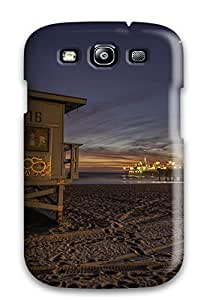 JennaCWright Design High Quality Santa Monica Beach Cover Case With Excellent Style For Galaxy S3