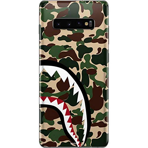 Skinit Shark Teeth Street Camo Galaxy S10 Plus Skin - Officially Licensed Skinit Originally Designed Phone Decal - Ultra Thin, Lightweight Vinyl Decal Protection