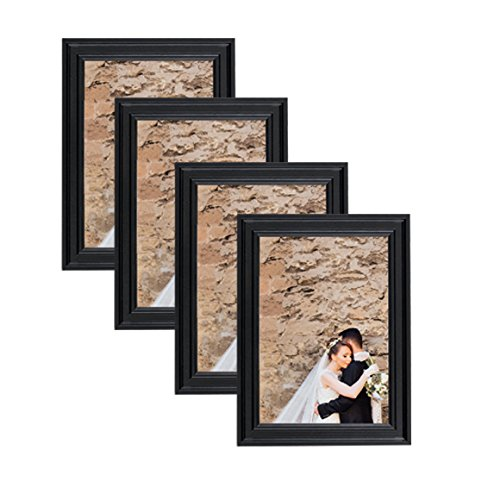 Classic Wooden Picture Frames 5x7  Display with Photo Glass