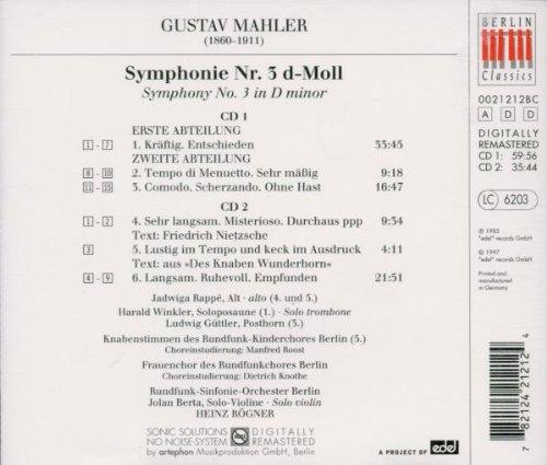 Symphony 3 by Berlin Classics