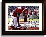 Framed Alabama Crimson Tide Amari Cooper Praying Autograph Replica Print