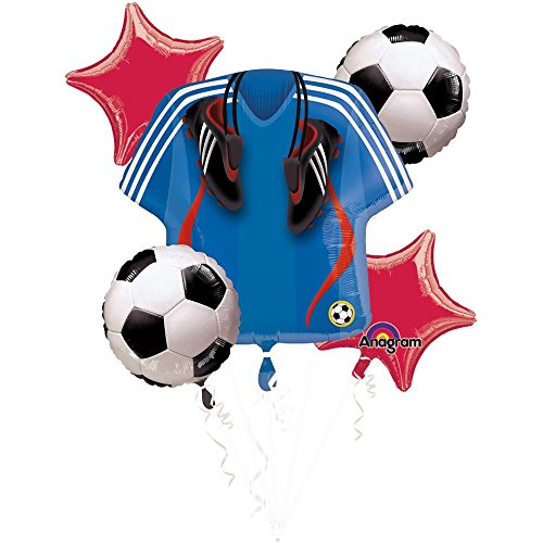 Mayflower Distributing Soccer Balloon Bouquet -