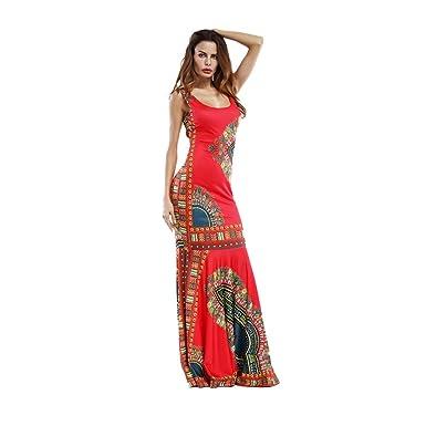 Vestido Largo Mujer Talla Grande V Profunda Falda Larga Trapecio ...
