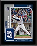"""Austin Hedges San Diego Padres 10.5"""" X 13"""" Sublimated Player Plaque - MLB Player Plaques and Collages"""