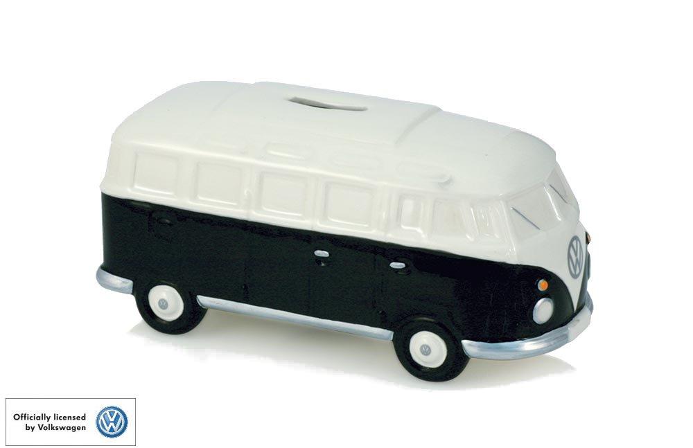 VW Volkswagen Camper ceramica nero salvadanaio