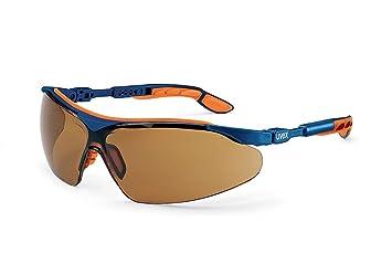 Uvex i-vo Sonnenbrille Schutzbrille - braun getönt, beschlagfrei