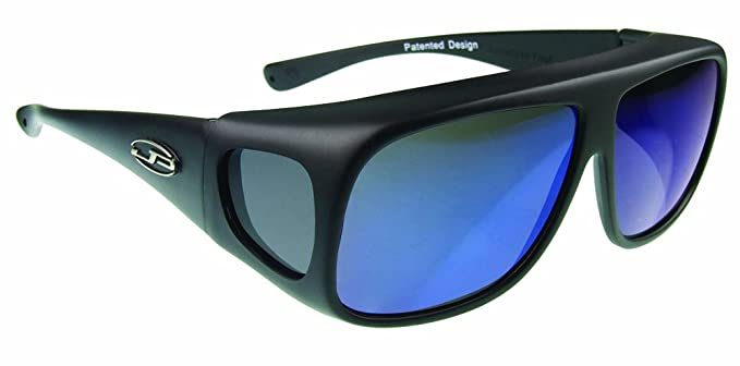 85a3c8f748 Fitovers Eyewear Navigator Sunglasses (Matte Black