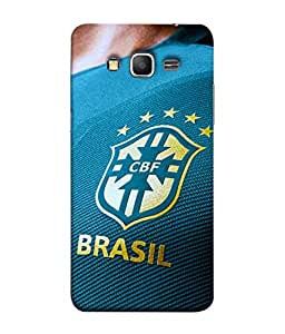 ColorKing Football Brazil 13 Multi Color shell case cover for Samsung Grand Prime