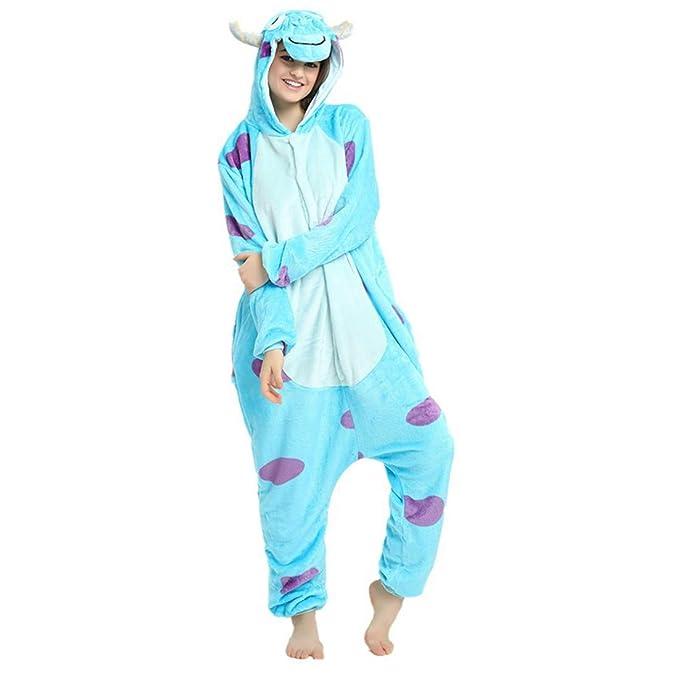 655dd1c0 Casa Adulto Animal Licorne Pijamas Con Capucha Kigurumi Unisexo la Ropa de  noche del Traje del Anime de Cosplay Disfraz Homewear Lounge Sleepwear del  ...