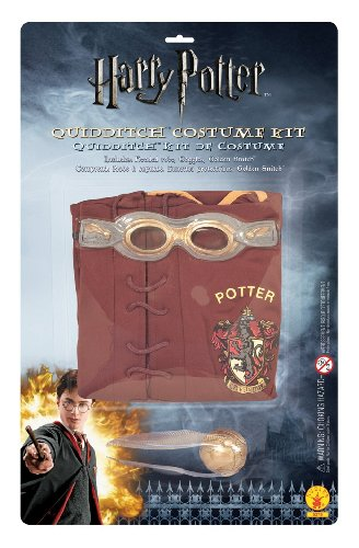Child (Size 12-14, 8-10 Yrs) Harry Potter Quidditch Costume Set