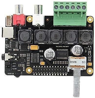 Raspberry Pi 3 B+ /3 A+ Full-HD DAC with I2S Class-D TI