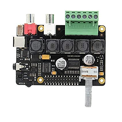 Geekworm Raspberry Pi 3 B+ (B Plus) /3B Full-HD DAC I2S Class-D TI PCM5122  Amplifier, X400 V3 0 Audio Expansion Board Sound Card | Music Player for