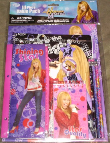(Hannah Montana Value Stationary Set)