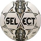 Select Royale Soccer Ball, White/Black, 5