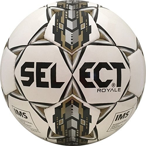 Select Royale Soccer Ball  White Black  5