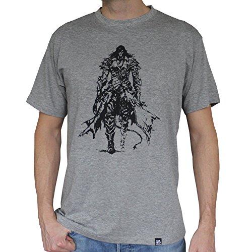 Mc Sport Castlevania B Camiseta Trevor Belmont Gris Hombre qAAFUPw