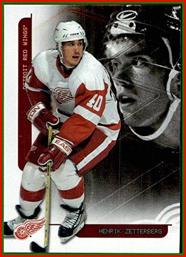 2003-04 ITG Toronto Star Foil #7 Henrik Zetterberg DETROIT RED WINGS